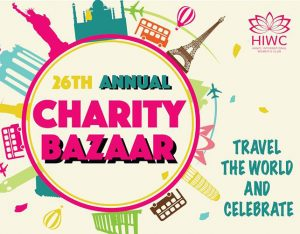 CHARITY BAZAAR 2018 – TRAVEL THE WORLD AND CELEBRATE